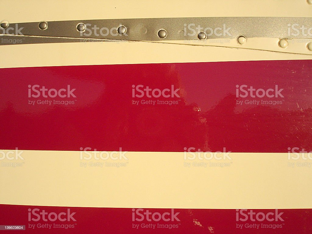red stripes stock photo