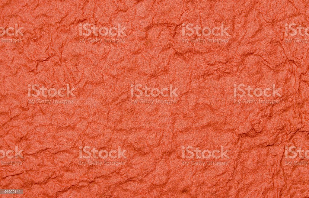 Red Structured Paper stock photo