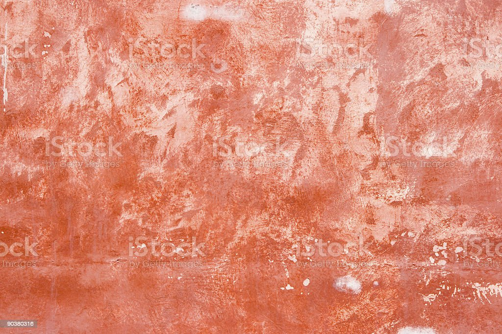 Red stucco texture royalty-free stock photo
