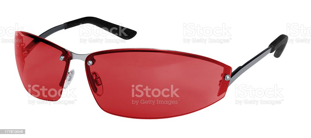 red sunglasses royalty-free stock photo