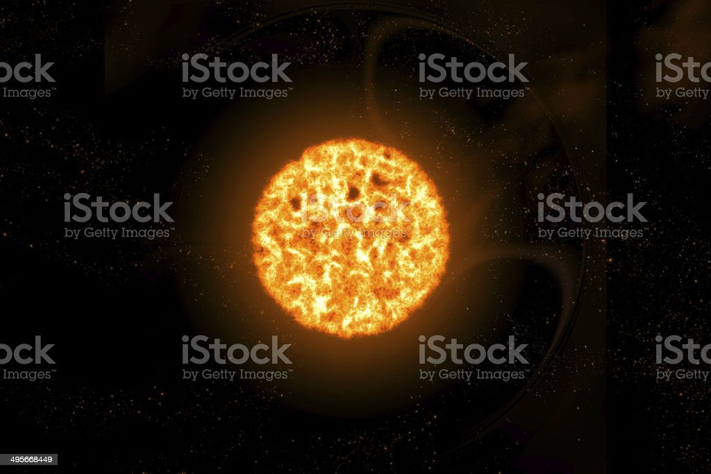 red supergiant stock photo
