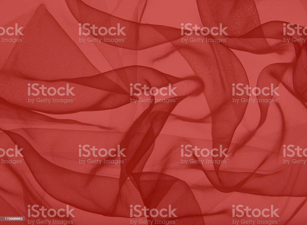 red swirling  silk royalty-free stock photo