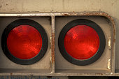 2 Red Tail Lights