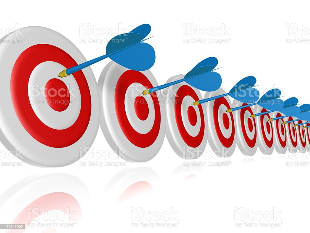 red target royalty-free stock photo
