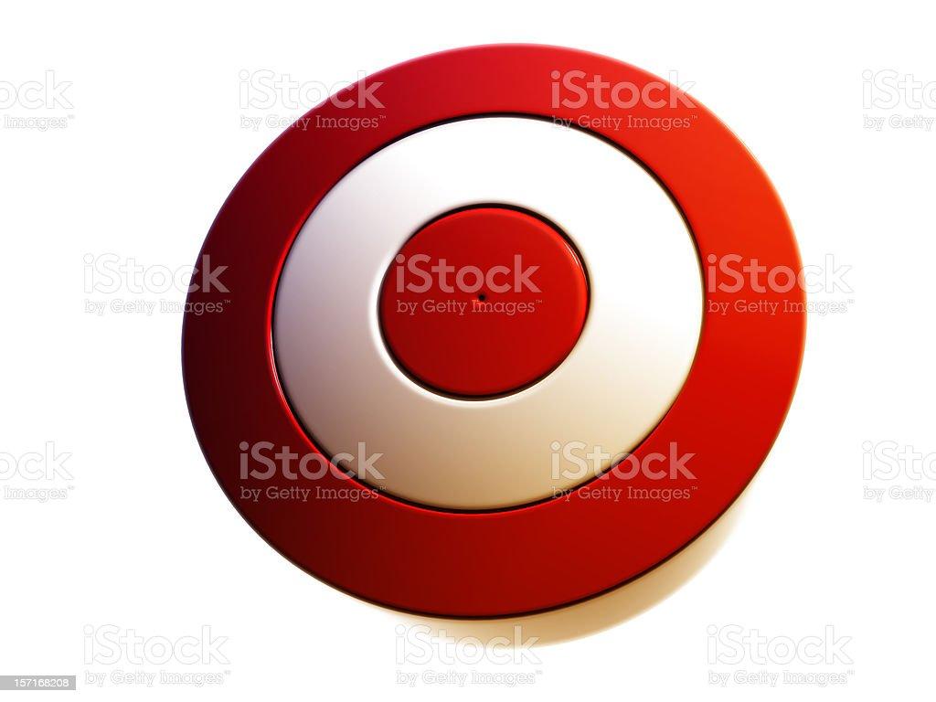 red target render royalty-free stock photo