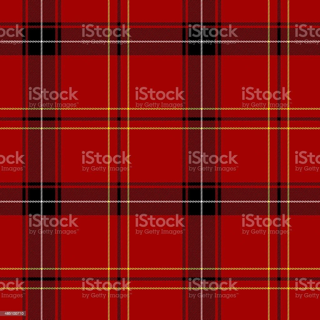 Red Tartan Seamless Pattern stock photo