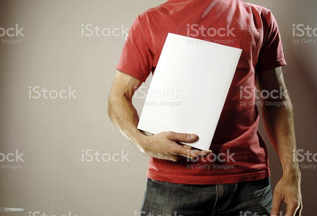 red tee shirt series stock photo