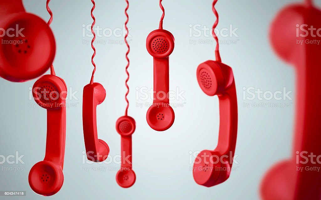 Red Telephone Concepts stock photo