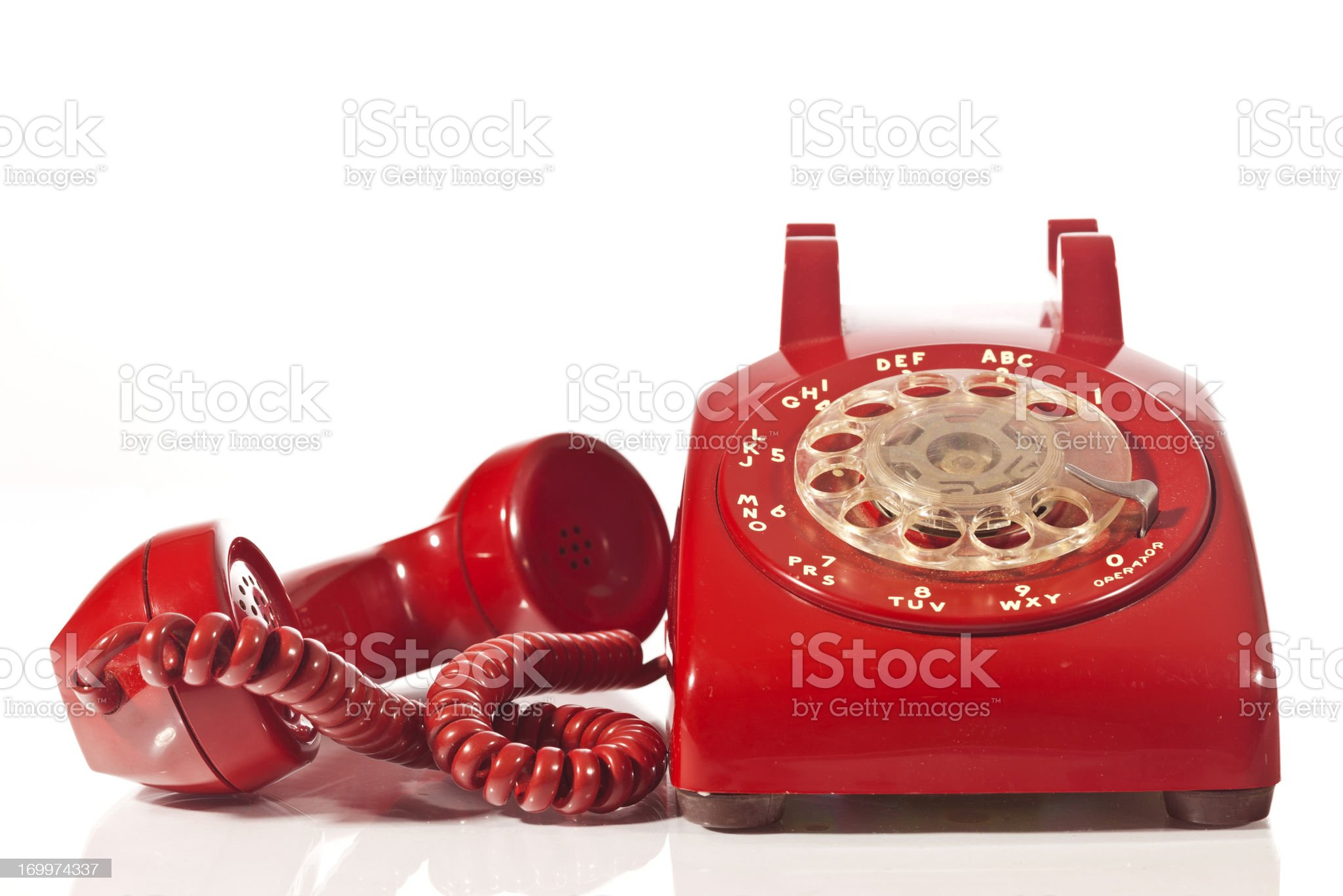 Red Telephone royalty-free stock photo