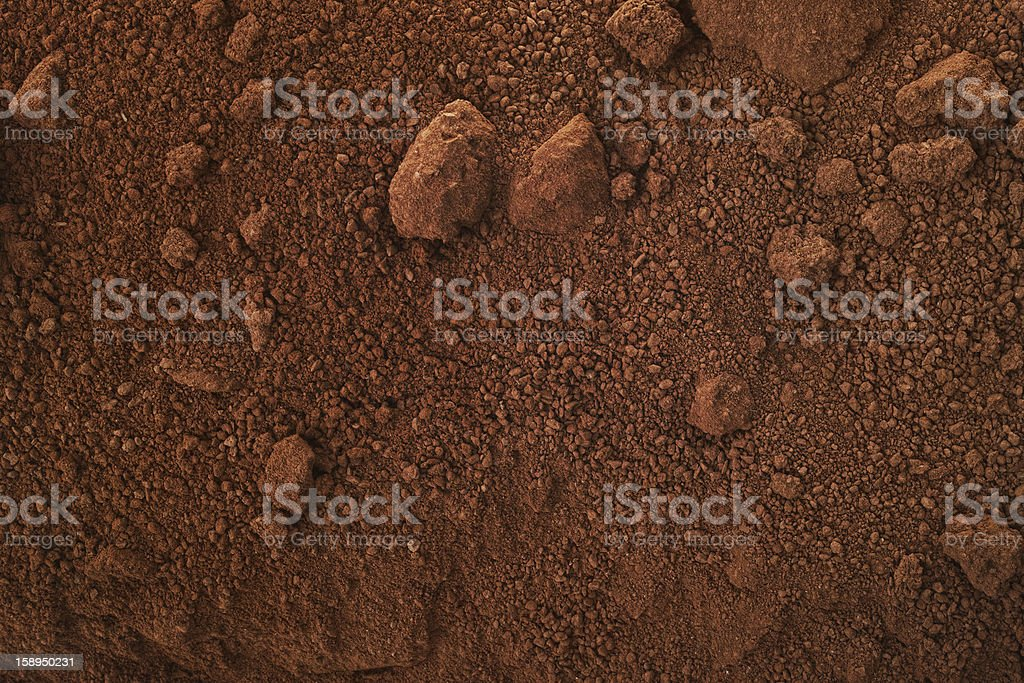 red terrain royalty-free stock photo