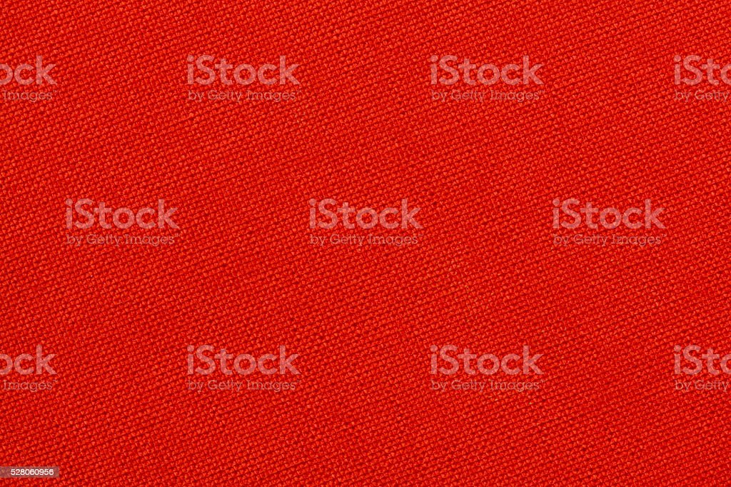 Red textile texture stock photo