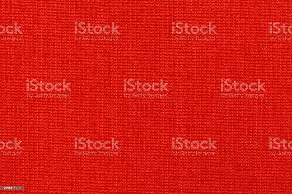 Red textile texture stock photo