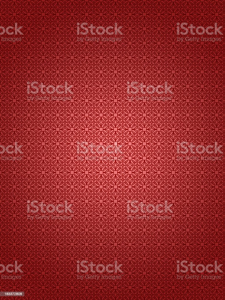 Red textured retro wallpaper background royalty-free stock photo