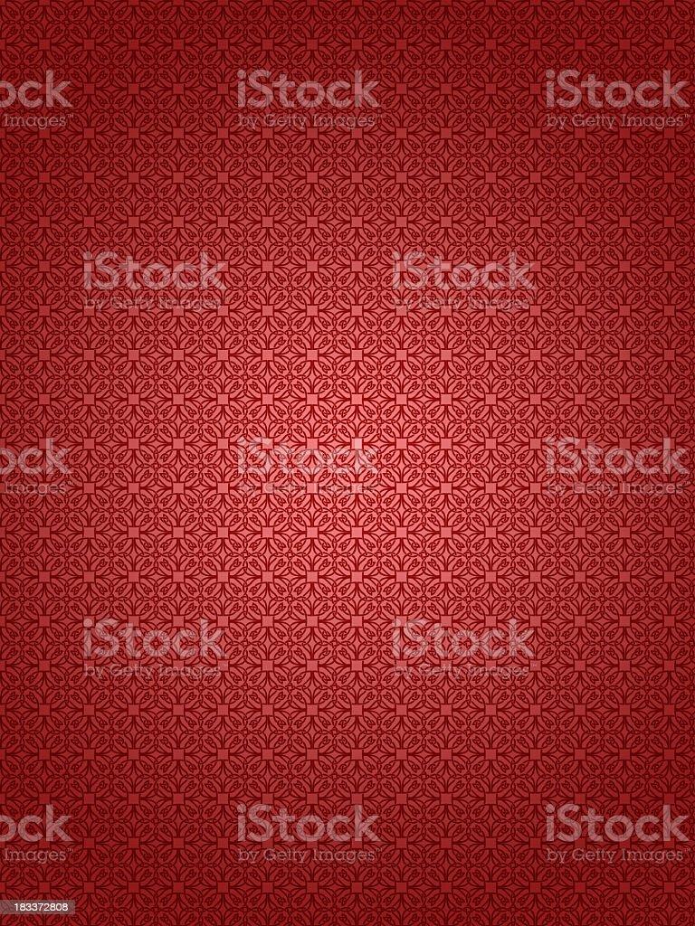 Red textured retro wallpaper background stock photo