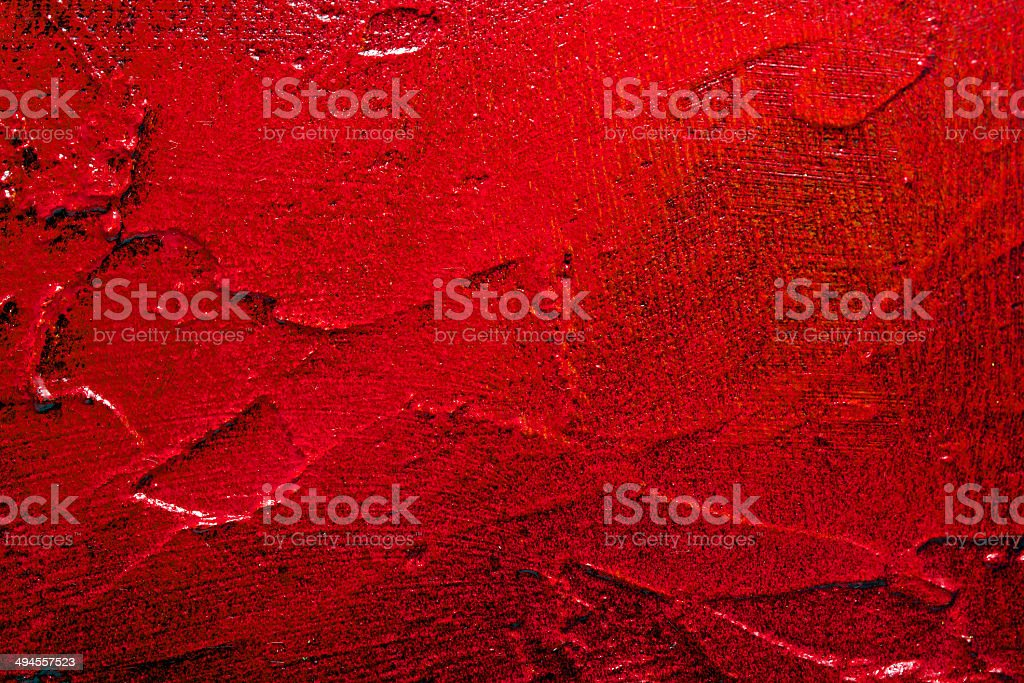 Red textured wall surface stock photo