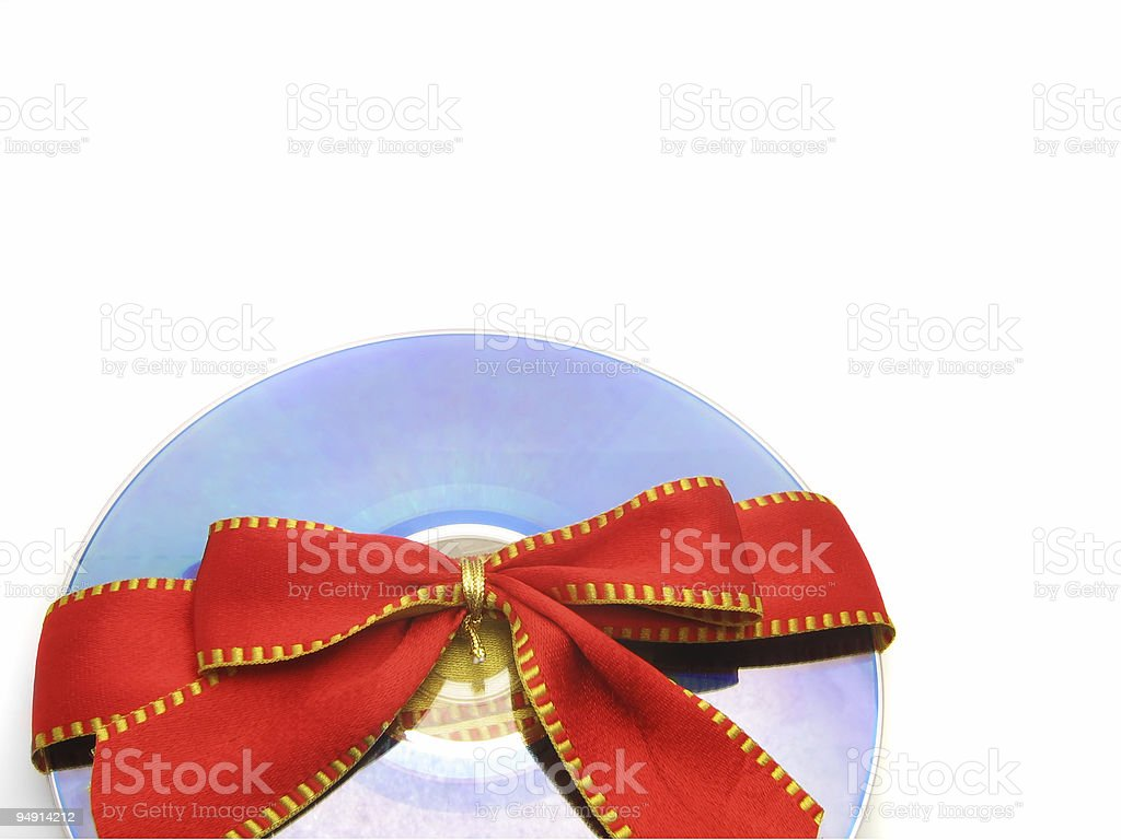 Red Tie CD royalty-free stock photo