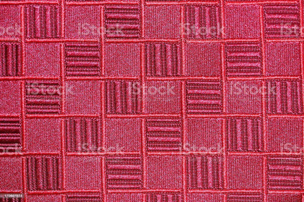 Red Tie Pattern stock photo