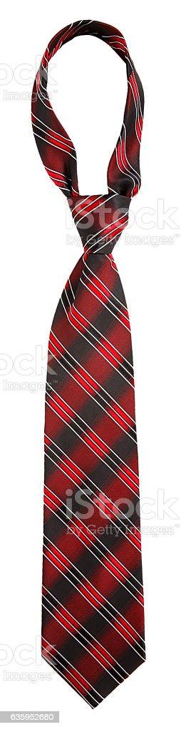 Red tie stock photo