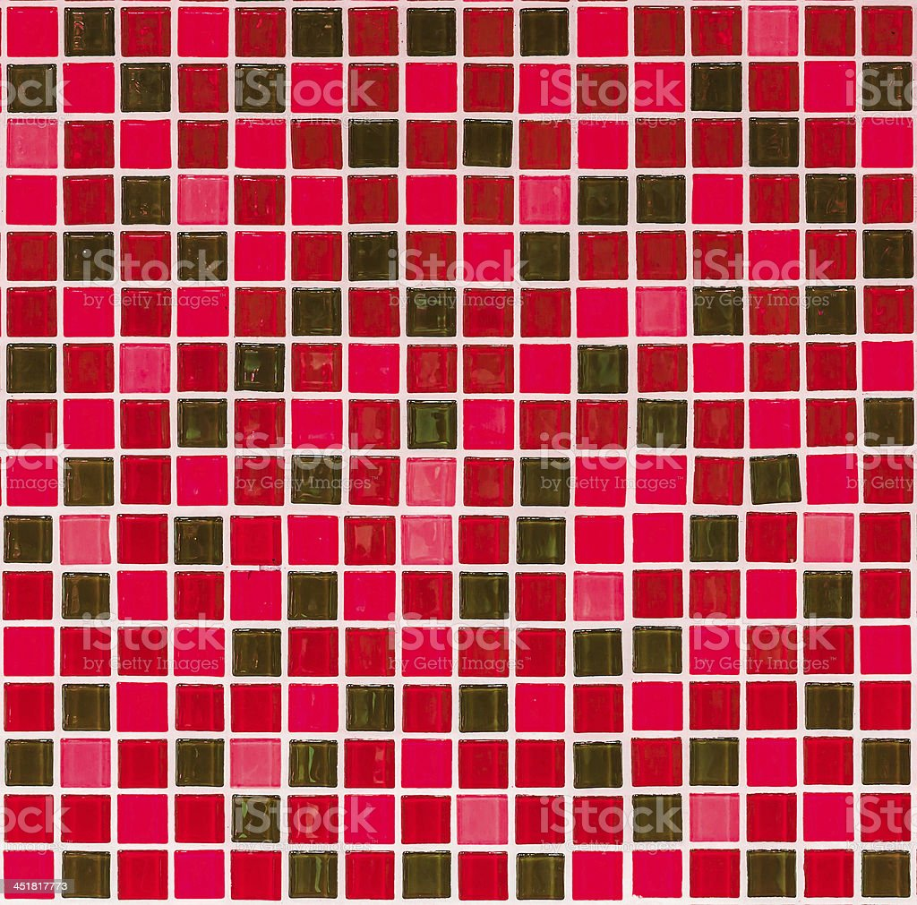 Sfondo rosso trama di piastrelle foto stock royalty-free