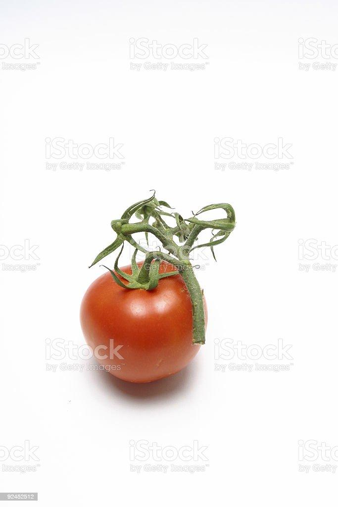 red tomato 01 stock photo