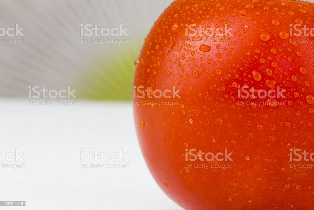 Red tomato royalty-free stock photo