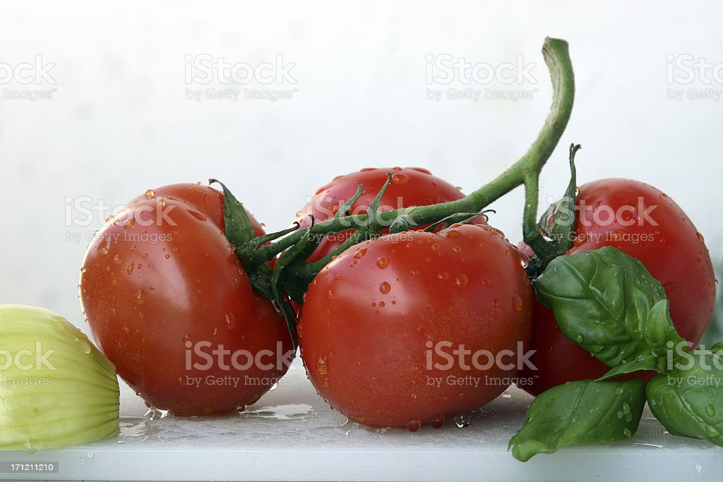 Red tomato soup royalty-free stock photo