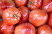 Red Tomato Vegetable Background