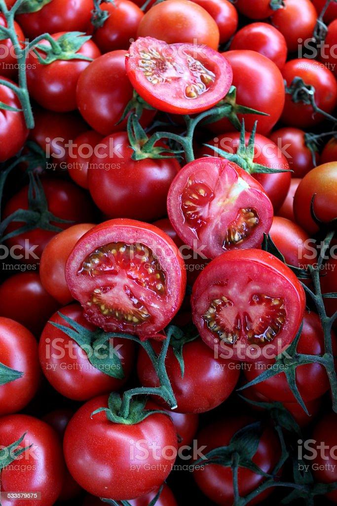 Красные помидоры Стоковые фото Стоковая фотография