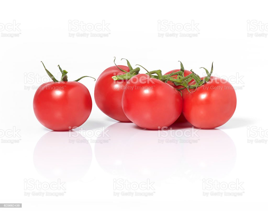 Red tomatos stock photo