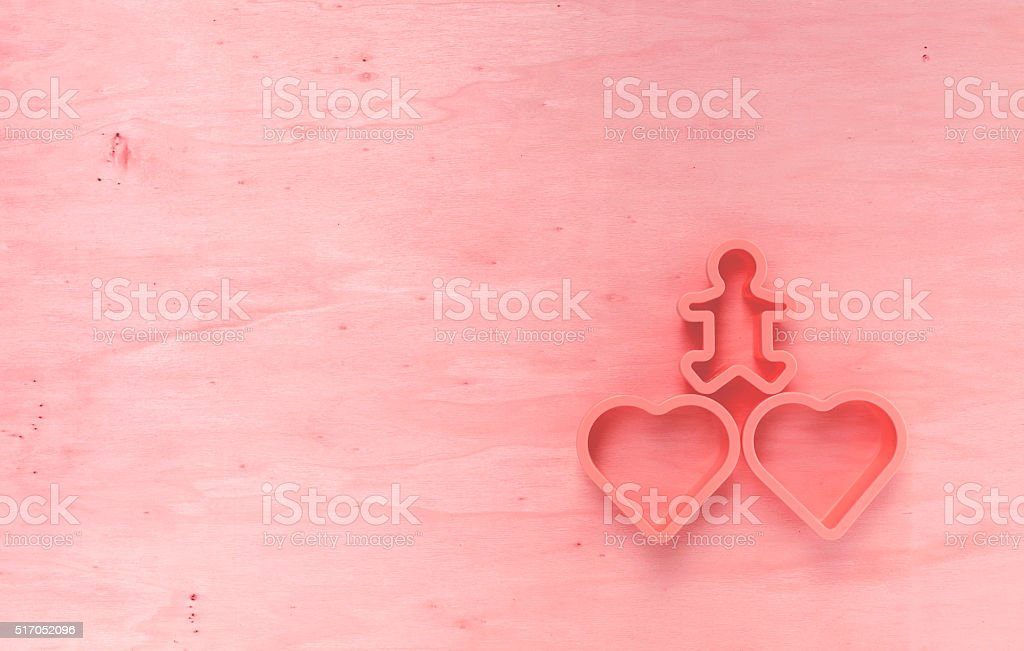 Red tone wood background stock photo