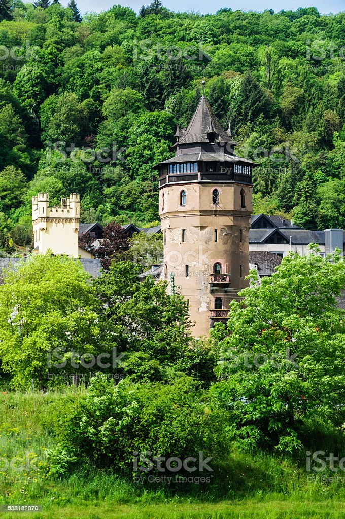 Red Tower, Oberwesel stock photo