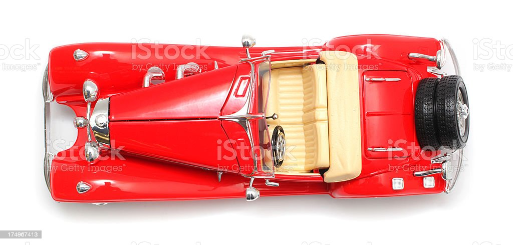 Red Toy Car stock photo