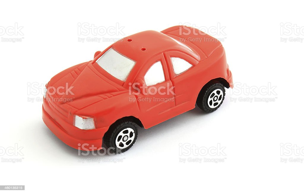 red toy car royalty-free stock photo