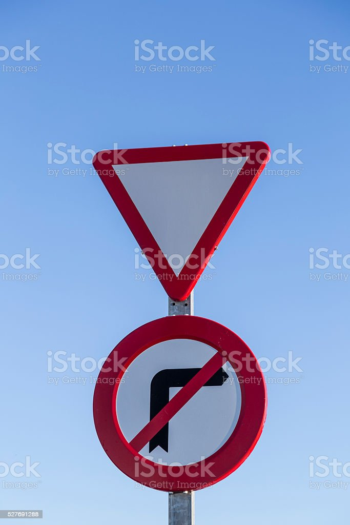red traffic signal caution and prohibition stock photo