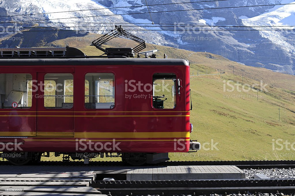 Red Train - XLarge stock photo