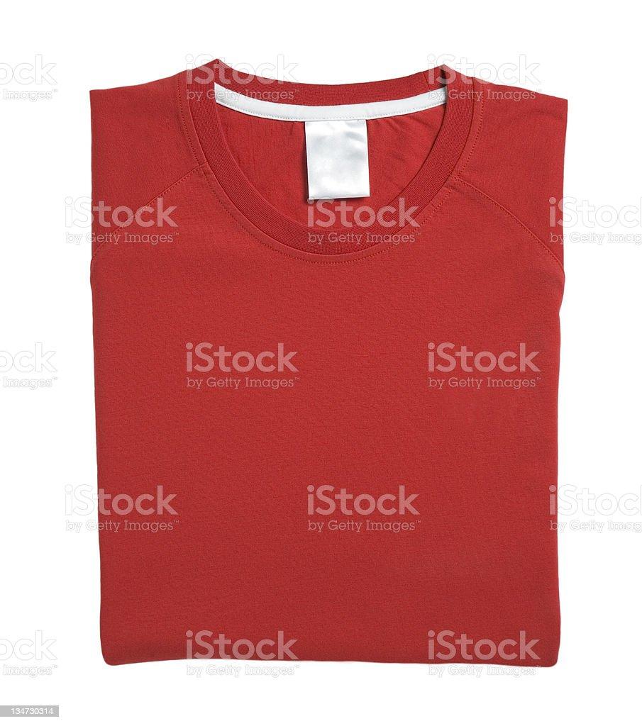 red Tshirt stock photo