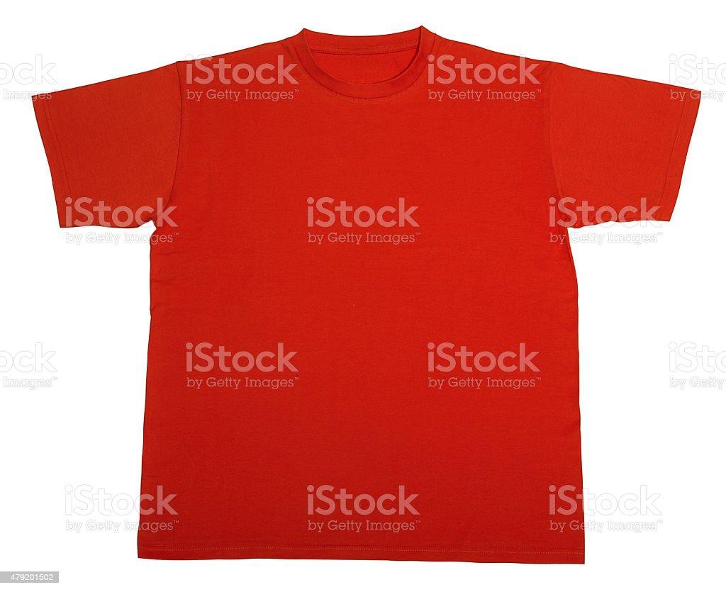 red t-shirt stock photo