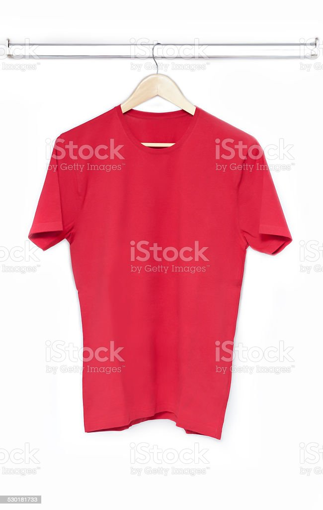 Red T-Shirt (Click for more) stock photo