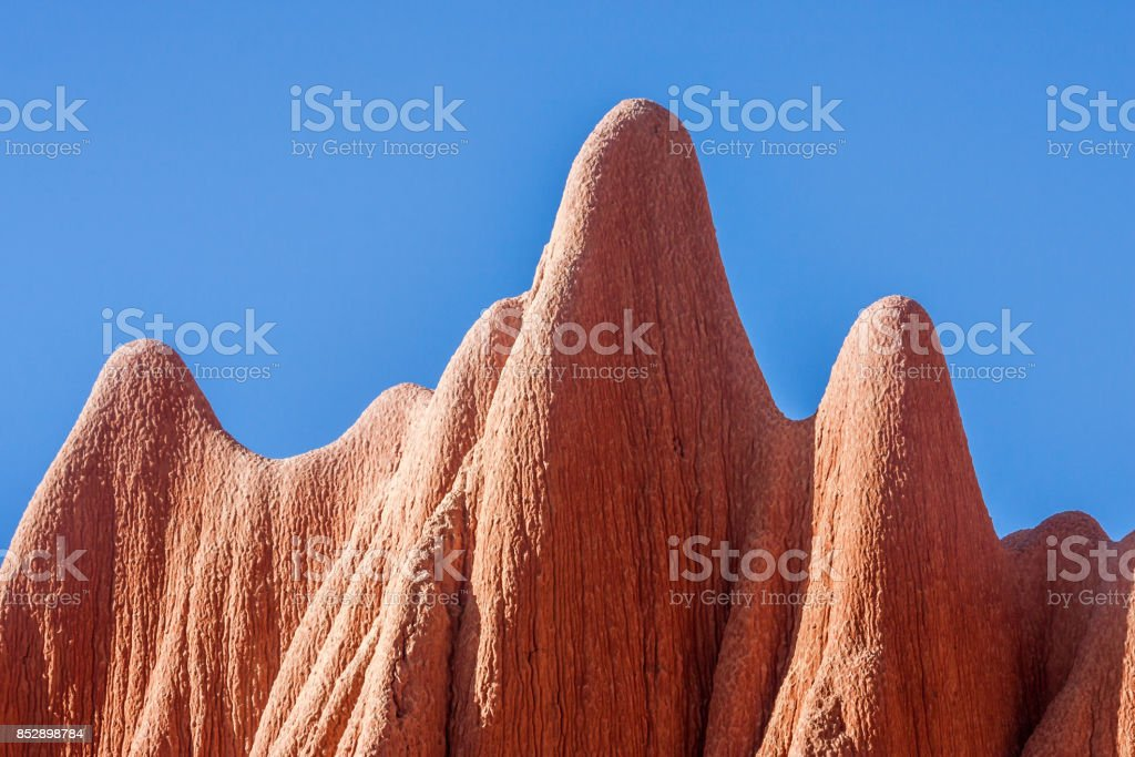 Red Tsingy stock photo