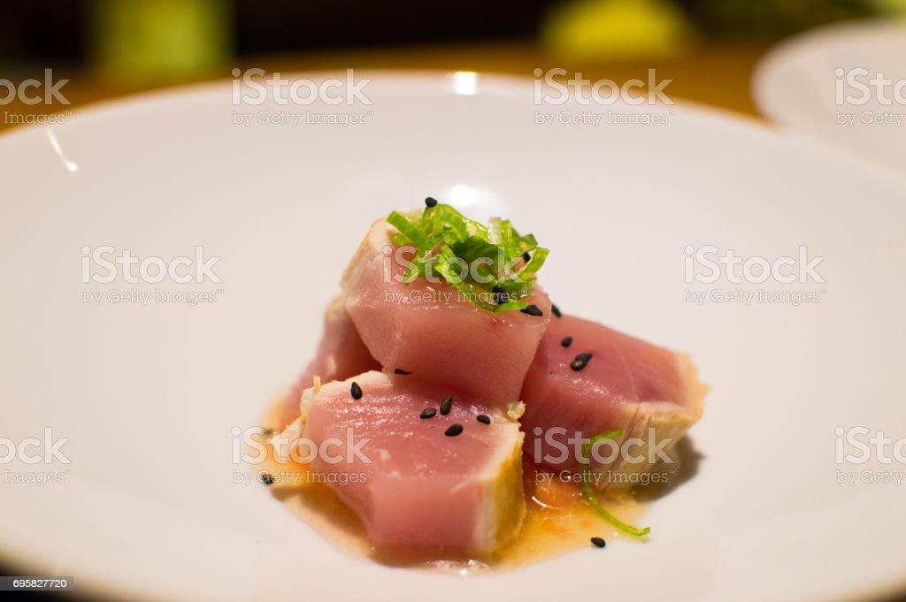 Red tuna stock photo