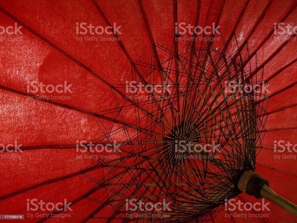 Red Umbrella 01 stock photo