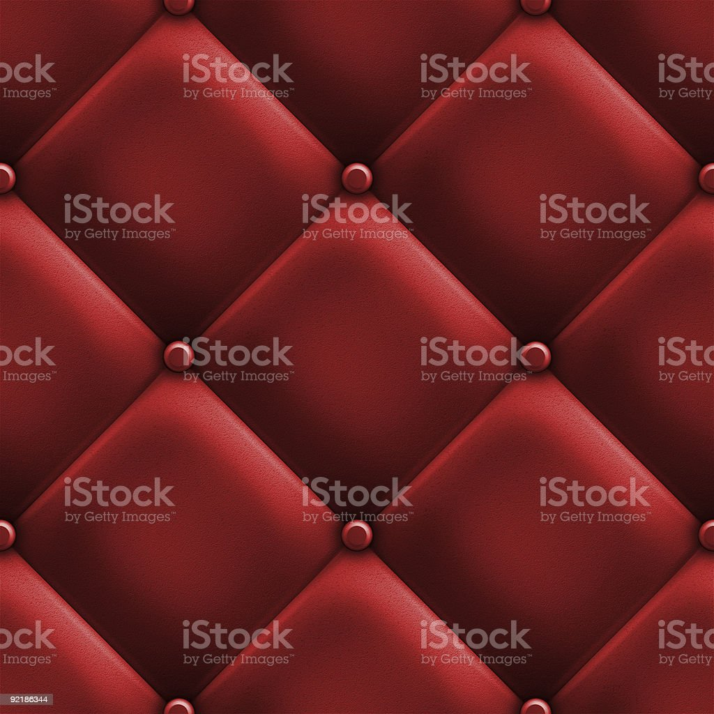 red upholstery royalty-free stock photo