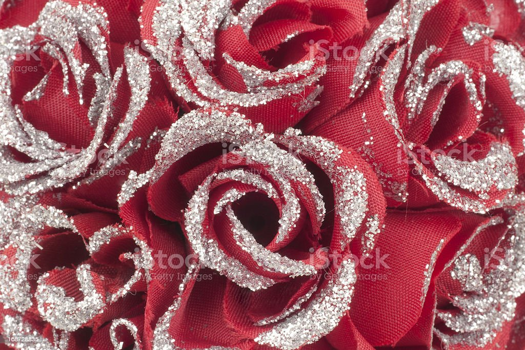 Red valentines day roses stock photo