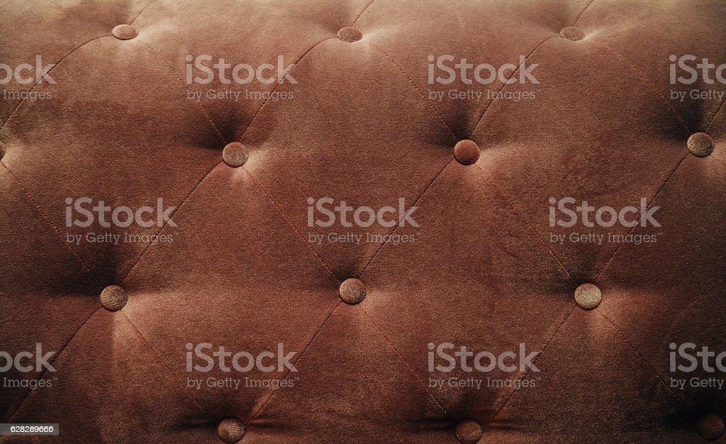 Red Velvet Bed head background stock photo