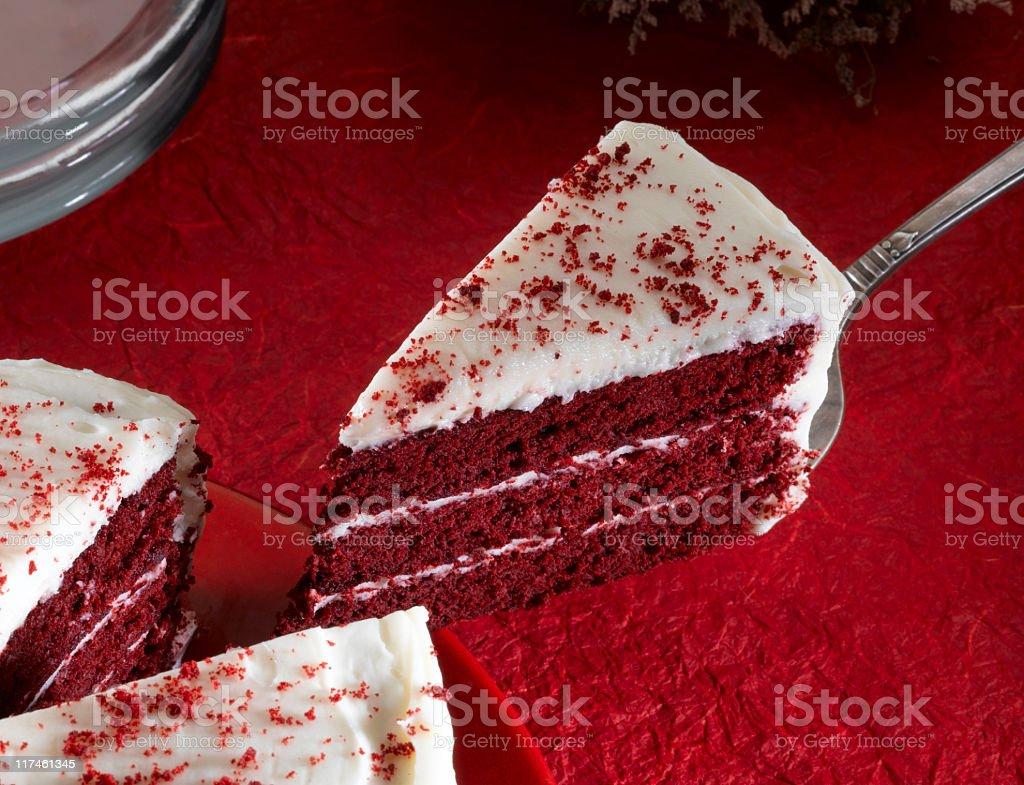 Red Velvet Cake royalty-free stock photo