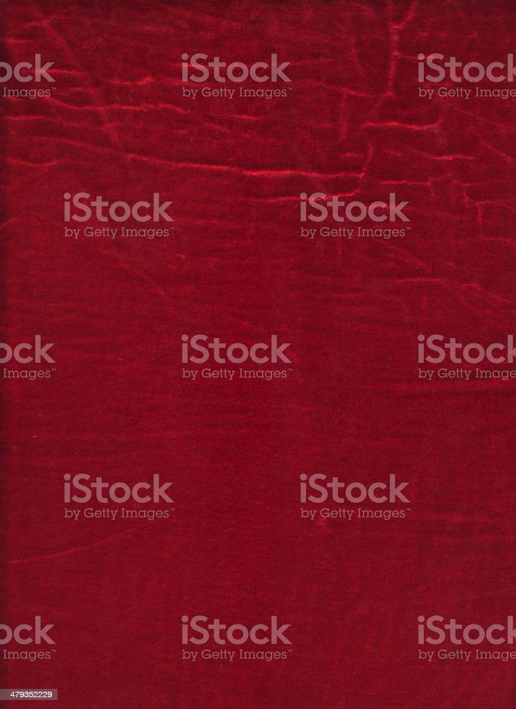 Velluto rosso Grunge foto stock royalty-free