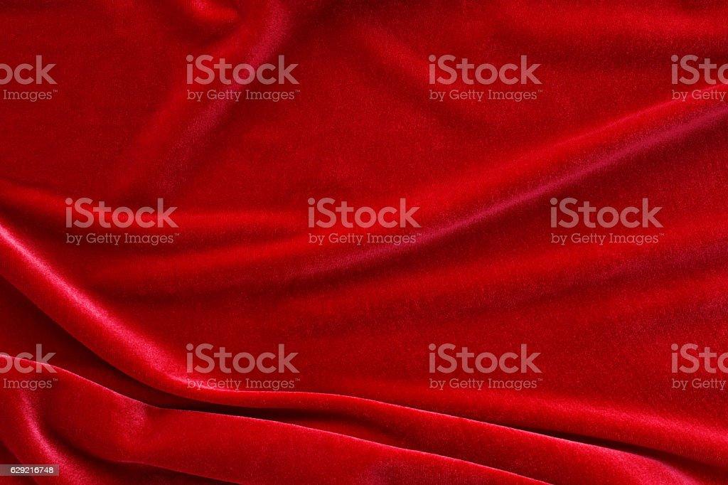 Red velvet stock photo