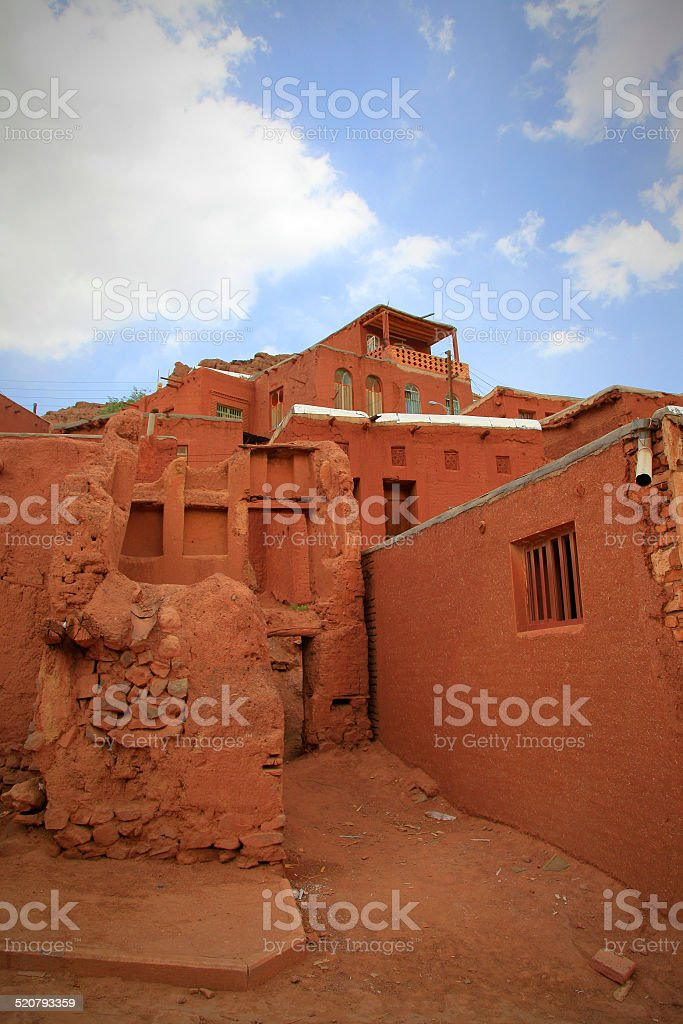 Rouge village ! photo libre de droits