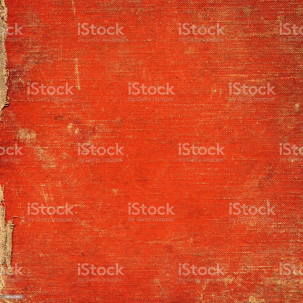 Red vintage fabric background stock photo