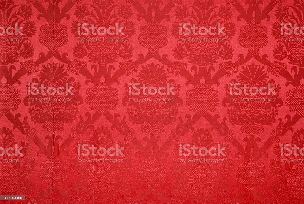 Red vintage wallpaper background texture stock photo